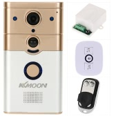 KKmoon® 720P HD WiFi Door Phone Visual Intercom Wireless Doorbell