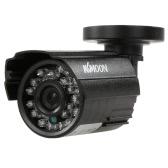 KKmoon  1200TVL CCTV Bullet Camera 24 IR Lamps Night Vision 1/3'' CMOS IR-CUT Waterproof For Home Security PAL System