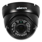 "KKmoon  1080P AHD Dome CCTV Camera 2.8~12mm Manual Zoom Varifocal Lens 2.0MP 1/3"" for Sony CMOS IR-CUT 36 IR LEDS Night Vision IP66 Rainproof Outdoor Security NTSC System"