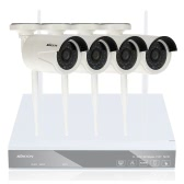 KKmoon 4CH Channel HD 720P WiFi NVR  + 4pcs wireless WiFi IP Camera