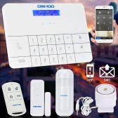 OWSOO  Wireless LCD GSM & SMS Home House Security  Burglar Intruder Alarm System Auto Dialer