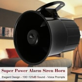 Super Power Alarm Siren Horn Outdoor with Bracket for Home House Alarm System Security