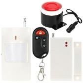 Super Loud Wireless Alarm System Home House Security Burglar System