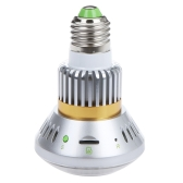 "Bulb-Shaped CCTV Security DVR Camera Invisible 36 IR LEDs Night Vision Micro-SD Card Storage 1/4"" COMS E27"
