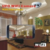 Wifi P2P Smoke Detector Spy Wireless IP Camera Digital Video Recorder for iPhone 6 6 5 5C 5S Samsung HTC Smartphones Tablet PC