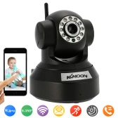 KKmoon 0.3MP Camera PnP P2P Pan Tilt IR WiFi Wireless Network IP Webcam