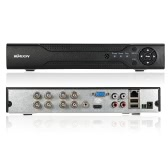 KKmoon 8 Channel 720P CCTV Network DVR H.264 HD Home Security System Motion Detection