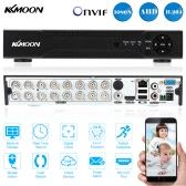 KKmoon 16 Channel 720P CCTV Standalone Analog High Definition H.264 HD Remote View Home Security System