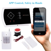 ZONEWAY ANDROID IOS APP Controlled Wireless GSM SMS Autodial Home Alarm Security System