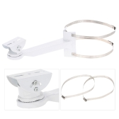 Metal Pole/Column Mount Loops Bracket 20CM for CCTV Security Camera