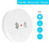 Cordless Standalone Photoelectric Wireless Smoke Detector Fire Alarm Sensitive Home House Office Security System