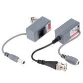 CCTV Camera Video Balun Transceiver BNC UTP RJ45 Video and Power over CAT5/5E/6 Cable