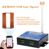 KKmoon GSM Door Gate Opener Remote On/Off Switch Free Call SMS Command Support 850/900/1800/1900MHz