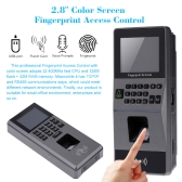 Biometric Fingerprint Access Control System TCP/IP, RS485 Attendance Machine Electric RFID Card Reader Sensor