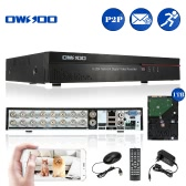 OWSOO 16CH Channel Full CIF H.264 HD P2P Cloud Network DVR Digital Video Recorder + 1TB Hard Disk support Audio Record Phone Control Motion Detection Email Alarm PTZ for CCTV Security Camera Surveillance System