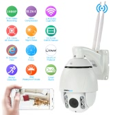 "szsinocam® 4.5"" Full HD 2.0MP Megapixels 1080P 2.8-12mm 4x Zoom Auto Focus 2.4G/5.8G Dual WiFi Wireless Pan Tilt PTZ Camera CCTV Surveillance Security P2P Network IP Cloud Indoor Outdoor Speed Dome Camera support Onvif2.4 Weatherproof IR-CUT Filter Infrared Night Vision Motion Detection Email Alarm Android/iOS APP"