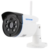 szsinocam  1080P HD Bullet IP Camera 1/3'' CMOS 6mm Lens 2.0MP Rainproof Phone APP Control H.264 Onvif P2P 6 Array IR LEDS Night View IR-CUT Motion Detection Email Alarm Surveillance