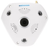 szsinocam  960P HD Wireless Wifi 360 Degree VR IP Camera Full View 1.44MM Lens Fish Eye Panoramic Indoor Security CCTV Camera with Antenna Support Phone APP Remote Control