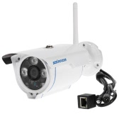 szsinocam  1080P Wireless WIFI HD Bullet IP Camera 2.0MP 3 Array IR LEDS 1/3'' CMOS 4mm Lens H.264 P2P Waterproof Support Night Vision Motion Detection Phone APP Control for CCTV Security