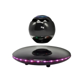 Portable LED Magnetic Levitation BT Speaker for Phone Computer Mini Audio Wireless Stereo Sound