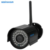 szsinocam HD 2.0MP Megapixels 1080P Wireless Wifi Camera CCTV Surveillance Security P2P Network IP Cloud Indoor Outdoor Bullet Camera support Onvif Weatherproof IR-CUT Night View Motion Detection Email Alarm Android/iOS APP Free CMS