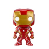 Funko POP Marvel Series Captain America 3 Civil War Action Figure Iron Man Kids Toy Funs Collection
