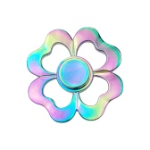 Fidget Toys Anti-Anxiety Spinner 360° Finger Hand Focusing EDC Toy for Kids Adults Stress Reducer Relieves Anxiety Desk Portable Rainbow Color Heart Shape