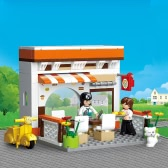 Sluban M38-B0567 134pcs Restaurant Town Series Building Block Construction Toy for Kids