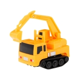 GOLD LIGHT Magic Mini Construction Truck Excavator Follow Black Drawn Line Toy Car