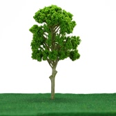 5 Pieces Green Mulberry Tree Model Train Layout Garden Scenery Wargame Landscape