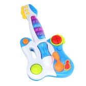 Musical Guitar Baby Toy Guitar with Flashing Lights Intelligence Educational Toy