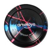 Ametoys V4 Professional Magic Yoyo High-speed Aluminum Alloy Yo-yo CNC lathe KK Bearing with Spinning String for Boys Girls Children Kids