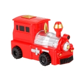 GOLD LIGHT Magic Mini Jeep Car Follow Black Drawn Line Toy Car