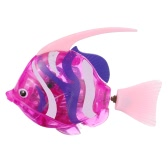 Fancy Toys Electronic Robot Shining Swimming Electric Fish Toy Children Kids Playing Water Toy Aquatic Decor