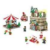 JJR/C Christmas Series 1003 1595pcs Pleasure Ground Scene Educational Building Block Bricks Toys