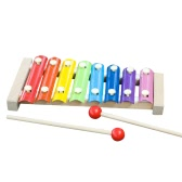 Hand Knocks the Xylophone Musical Instrument Toys Wisdom Development Music Ability Training Wooden Instrument