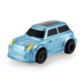 GOLD LIGHT Magic Mini Jeep Car Follow Black Drawn Line Toy Car