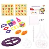 XINBIDA 719 76PCS Magnet Building Magnetic Blocks Construction Educational Toys for Kids