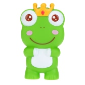 Cute Squeaky Toy Sounding Toy Cartoon Frog Animal Bath Toy Soft Rubber for Baby Water Fun
