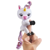 Smart Unicorn Record Gigi Interactive Glitter USB Electronic Recordable Finger Toy Induction Pet for Kids Baby