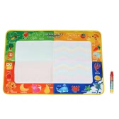 Non-toxic Water Drawing Mat Board Painting and Writing Doodle With Magic Pen for Baby Kids  73 * 49 CM