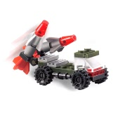3 Sets XIPOO Military Series XP91003 XP91004 XP91005 Fighting Vehicle Educational Building Block Toys