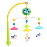 Baby Bed Bell Musical Mobile Crib a Dreamful Bed Ring Hanging Rotate Bell Rattle Intelligence Educational Toy