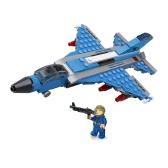 6-in-1 XIPOO 1233pcs XP91017 Blue Whale Battle Cruiser Building Blocks Educational Toys