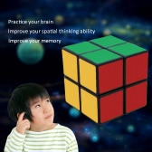 Professional Shengshou 2 * 2 Magic Cube Speed Cubo Square Puzzle Matte Sticker Twist Educational Toy White Ground