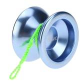 Professional Magic Yoyo T5 Overlord Aluminum Alloy Metal Yoyo 8 Ball KK Bearing with String for Kids Lake Blue