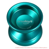 Ametoys V4 Professional Magic Yoyo High-speed Aluminum Alloy Yo-yo CNC lathe KK Bearing with Spinning String for Boys Girls Children Kids Green