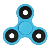 DIY Tri Fidget Spinner 360°Hand Finger Spinner Hybrid  Rotation Bearing Spin Widget Focus Toy Nylon PA Material for ADHD Anxiety Boredom Adults Children Killing Time Red