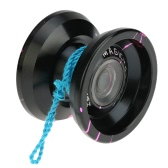 Professional Magic Yoyo K9 The King Metal Yoyo 8 Ball KK Bearing with Spinning String for Kids Green & Silver