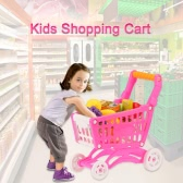 Coolplay Kids Small Shopping Cart Supermarket Handcart Children Toy Storage